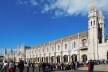 Igreja e Mosteiro dos Jerônimos e as inevitáveis filas, Lisboa<br />Foto Anita Di Marco