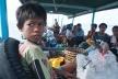 Transporte aquático, Lombok, Indonésia<br />Foto Fabricio Fernandes