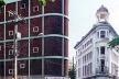 Ângulo da Rua Dona Maria César (esquerda) e Rua do Bom Jesus (direita)