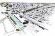 Ocupação das quadras com a nova tipologia proposta<br />Imagem dos autores do projeto