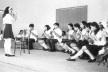 Flautistas se apresentam no Festival Vocacional de Música em Rio Claro, 1968<br />Foto divulgação  [Arquivo Gvive]