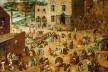 Pieter Bruegel (o velho), <i>Jogos de crianças</i>, 1560<br />Imagem divulgação  [Museu de História da Arte de Viena/Wikimedia Commons]
