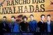 Publicidade de artistas cantores sertanejos no evento das Cavalhadas<br />Foto Fabio Lima