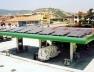 Posto de Gasolina BP com módulos de células fotovoltaicas, Osana, Espanha [ICAEN – Institut Català d'Energia]