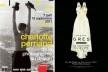 Cartazes das exposições de Charlotte Perriand e Madame Grès<br />Foto divulgação