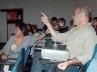 Comunicação de trabalho: integrantes do Grupo de Trabalho Vale do Paraíba e Alto Tietê (9/10/02)<br />Foto Hugo Segawa