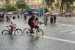 Enchente em São Paulo<br />Foto Rovena Rosa  [Agência Brasil]