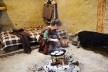 Produção de panquecas, refeição que chegou na região com os romanos<br />Foto Ana Carolina Brugnera / Lucas Bernalli Fernandes Rocha