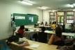 Apresentação dos trabalhos na sala de aula  [acervo Lutero Pröscholdt Almeida]