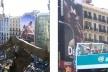 Fachadas de Barcelona, com anúncios publicitários [Foto Xico Costa]