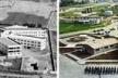 """À esquerda, Asilo em Badajoz, Espanha, 1983. À direita, Penitenciária de Buenos Aires [DIEZ DEL CORRAL, Juan. """"Arquitectura y vejez"""" www.coar.es/ Arquivos do DEPEN/MJ. 2001]"""