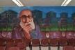 Mural en homenaje a Paulo Freire en la Facultad de Educación y Humanidades, Universidad del Bío-Bío<br />Foto Nefandisimo  [Wikimedia Commons]