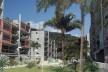 Vista do jardim coletivo. Concurso Habitação para Todos. CDHU. Edifícios de 6/7 pavimentos - 2º Lugar.<br />Autores do projeto  [equipe premiada]