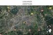 Mapa de localização do museu na cidade de Eindhover<br />Foto Ana Carolina Brugnera / Lucas Bernalli Fernandes Rocha