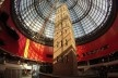 Estação Melbourne Central, que tem em seu interior um edifício antigo de uma cervejaria<br />Foto Gabriela Celani