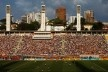 Estádio do Pacaembu em dia de jogo<br />Foto Nelson Kon