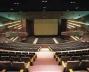 Vista da platéia e palco re-configurados <br />Foto Racional Engenharia