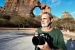 Luiz Cláudio Marigo na Pedra Furada, Parque Nacional da Serra da Capivara PI<br />Foto José Tabacow