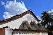 Capela de Nossa Senhora do Rosário, contrafortes para reforço de parede da capela-mor, Arraial da Barra, Goiás Velho GO, 2014<br />Foto Elio Moroni Filho