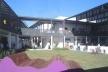 Pátio central<br />Imagem dos autores do projeto