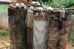 """Detalhe da """"casinha"""" rústica e de caixa d'água<br />Foto Fabio Lima"""