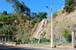 Cascata no centro urbano, pelo córrego Monte Alegre, em Matias Barbosa<br />Foto Fábio Lima