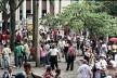 Espaço público em Medellín<br />Foto Maria Cau Levy