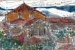 Desenho da Basílica pela vista da Locanda Cipriani, feito na visita<br />Desenho Fabio Lima