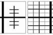 Figura 7. Seguindo Alexander: configuração em árvore X configuração malha