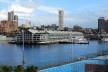 Woolloomooloo Bay, armazéns convertidos em apartamentos de luxo, com direito a vaga molhada<br />Foto Gabriela Celani