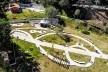 Parque Municipal Nair Bello, imagem aérea do conjunto da fase 01, São Paulo SP Brasil, 2020. Secretaria Municipal do Verde e do Meio Ambiente<br />Foto Edson Lopes Jr.  [Acervo Secom]