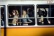 Transporte público, outro aspecto de tram no percurso do centro histórico<br />Foto Fabio Jose Martins de Lima