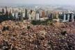 Desigualdade espacial e social em São Paulo<br />Foto Nelson Kon