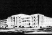 Concurso para o edifício-sede do Ministério da Educação e Saúde, 2º colocado, arquiteto Raphael Galvão [CAVALCANTI, Lauro. As preocupações do belo. Rio de Janeiro, Taurus, 1995]