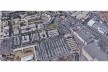 Aulário 3 (unidad de Alicante), vista aérea, San Vicente del Raspeig, Alicante, España, 2000. Arquitecto Javier Garcia-Solera<br />Foto divulgação/ Google Earth