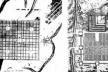 À esquerda, traçado de Luiz Díez Navarro para Nova Guatemala, 1776. À direita, plano de Cusco na época da conquista espanhola [GUTIERREZ, Ramón. Arquitectura y urbanismo en Iberoamerica. Madrid, Arte Cátedra, 1992]
