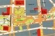 Proposta do novo Vale do Anhangabaú. Promon Engenharia / JBMC Arquitetura e Urbanismo / AQ Arquitetura e Urbanismo<br />Fonte: Urbs, nº 36. São Paulo, Associação Viva o Centro, jan./fev. 2005