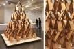 Exposição de maquetes de projetos do arquiteto Kengo Kuma, Japan House, São Paulo, 2017<br />Foto Abilio Guerra