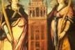Miguel de Esquivel, Santa Justa e Santa Rufina, c.1620<br />Foto José Lira  [Acervo Catedral Metropolitana de Sevilha]