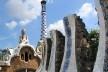 Parque Güell, Barcelona, arquiteto Antoni Gaudí<br />Foto Abilio Guerra