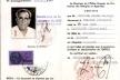 Certificado de Refugiado de Domingo Escorsa, Office Français de Protection des Réfugiés et Apatrides (1963) [Arxiu Nacional de Catalunya]
