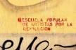 Pichação em muro de Santiago do Chile, setembro de 2014<br />Foto Abilio Guerra