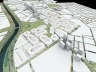 Figura 13 – Revisão da Operação Urbana Água Branca – Imagem Síntese. Maquete eletrônica: Felipe Francisco de Souza