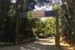 Entrada do Parque Arqueológico e Ambiental de São João Marcos na Estrada RJ-149 (Rio Claro-Mangaratiba)<br />Foto Dayane Caputo Camacho Lopes, 2019
