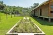 Sede Administrativa do Parque Natural Fazenda do Carmo, perspectiva posterior, São Paulo, Secretaria do Verde e Meio Ambiente – SVMA, 2018<br />Foto divulgação