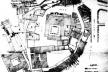 Fig. 11 - Planta Topográfica da Sé, 1939-40, antes das demolições do casario na envolvente da Sé Catedral