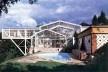 Residência Rubens/Cristina, Nova Lima MG, 1983. Arquiteto Éolo Maia<br />Foto Acervo Jô Vasconcellos