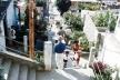 Serrinha, rua Balaiada antes da intervenção, arquiteto Manoel Ribeiro, Favela-Bairro, Rio de Janeiro
