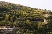Fig. 18 - Vegetação atual do Park Güell. Notar a diferença de densidade vegetal entre o parque e a zona externa, na parte mais alta da encosta