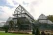 As grandes estufas com um pavilhão central que abrigam as plantas tropicais<br />Foto: Jovanka Baracuhy C. Scocuglia